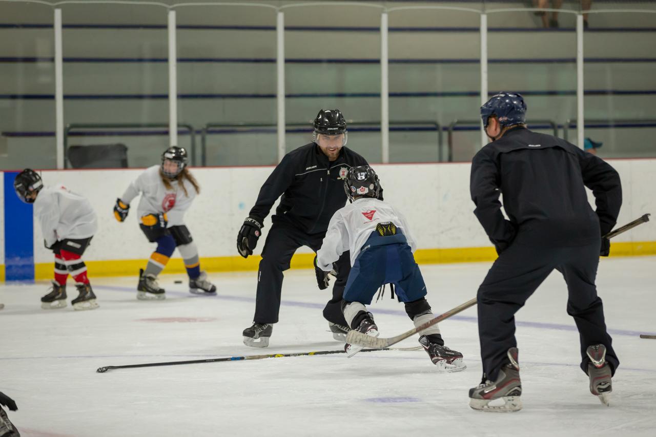 Mike Fountain Muskoka Summer Hockey School – Teaching Your